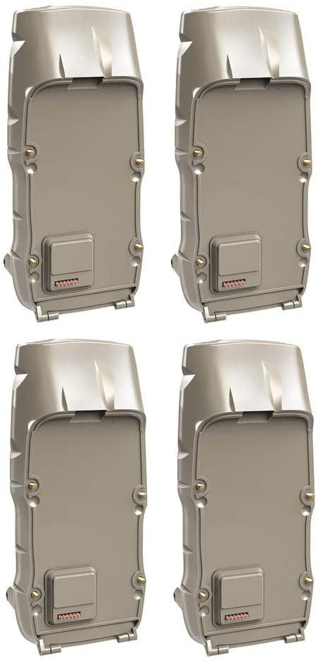 Cuddeback 3495 D-Battery Packs (4) for CuddeLink J-1415 & J-1422 Trail Cameras: Doubles Their Battery Life