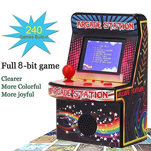 Portable Retro Handheld Game Console 8-Bit Mini Arcade Game Machine 240 Classic Games Built in