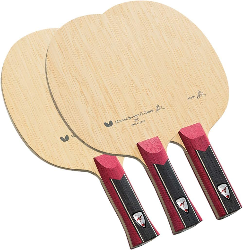 Butterfly Mizutani Jun ZLC Blade - Professional Butterfly Table Tennis Blade - ZL Carbon Fiber Blade - Available in AN, FL, and ST handle styles - Made in Japan