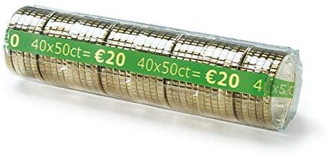CECONCEPT L250TC050 Pack of 250 Money Cases 0.50 Euro