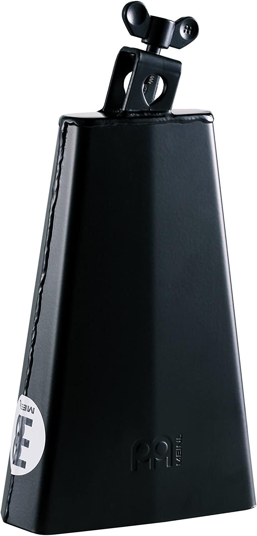 Meinl Percussion HCO2BK Headliner Series Mountable 8-Inch Cowbell, Black Powder Coated Steel