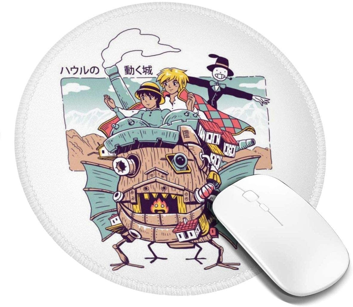 Shonen Magic Customized Designs Non-Slip Rubber Base Gaming Mouse Pads for Mac,7.9x7.9 in, Pc, Computers. Ideal for Working Or Game