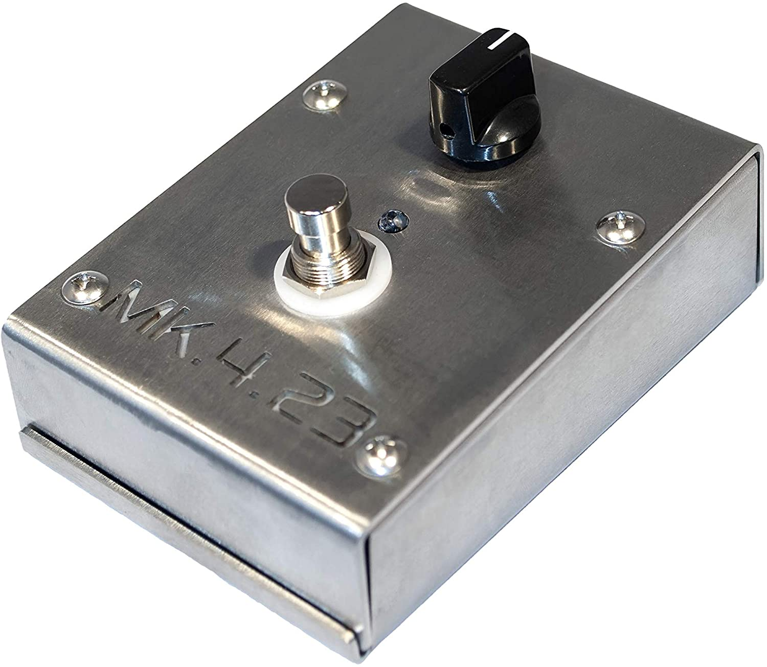 MK 4.23 Clean Boost Pedal - Brushed Steel