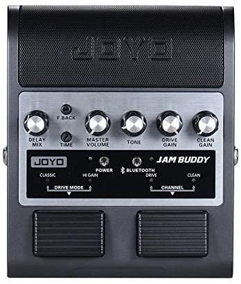 JOYO JAM BUDDY Rechargeable Bluetooth 4.0 Dual Channel Pedal Guitar Amp Black