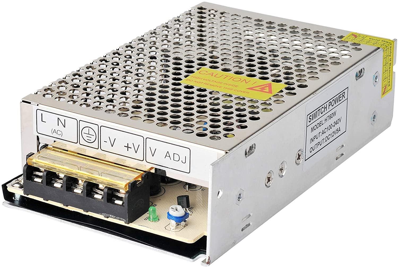 110V/220V AC to DC 24V 5A 120W Switch Power Supply Driver,Power Transformer for CCTV Camera/Security System/LED Strip Light/Radio/Computer Project.