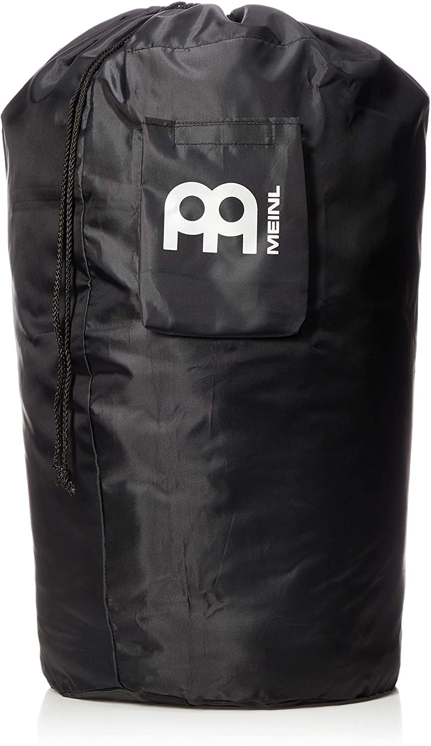 Meinl Percussion Universal Gig Bag with Shoulder Strap and Draw String-Fits All Conga Sizes-Heavy Duty Nylon, Carrying Grip and Exterior Pocket, Black (MSTCOB)