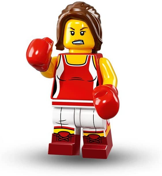 LEGO Series 16 Collectible Minifigures - Kickboxer Female (71013)