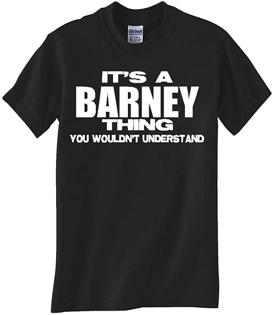 Gildan Barney Thing Black TEE Shirt