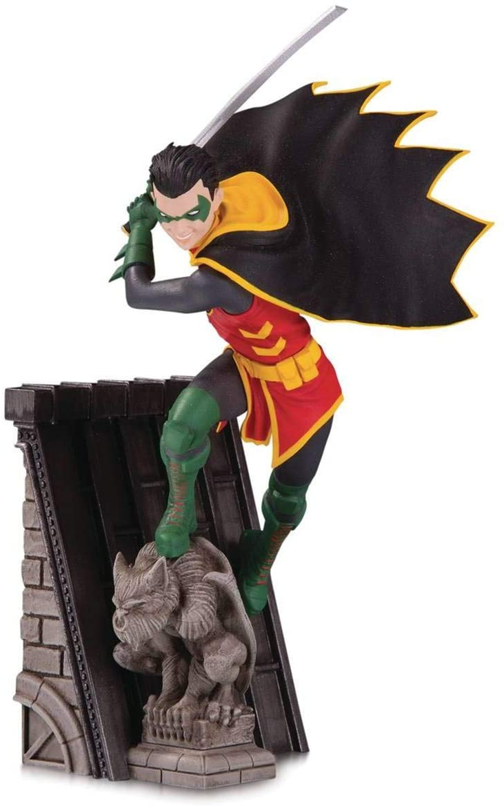 DC Collectibles Batman Family: Robin Multi-Part Statue, Multicolor