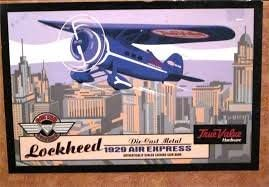 True Value Hardware 1929 Lockheed Air Express
