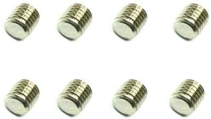 Parts & Accessories HG Metal 34mm Socket Set Screws 8 PCS for RC Car 1/12 P801 P802 Truck Parts