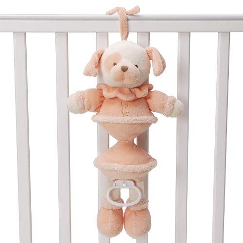 Gund Baby Musical Pulldown Plush Dog, Tangerine (Discontinued by Manufacturer)