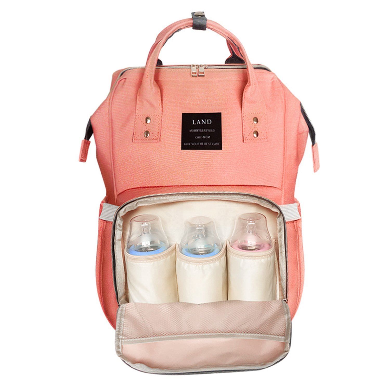 Globalwells Mummy Backpack Travel Bag Multifunction Baby Diaper Nappy Changing Handbag Tote Bag