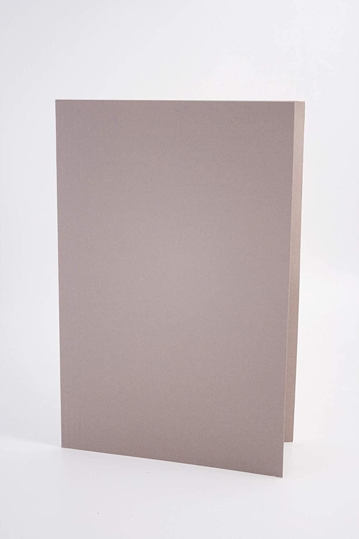 Exacompta Guildhall Square Cut Folder, 250gsm, 349x242mm - Buff, Pack 50
