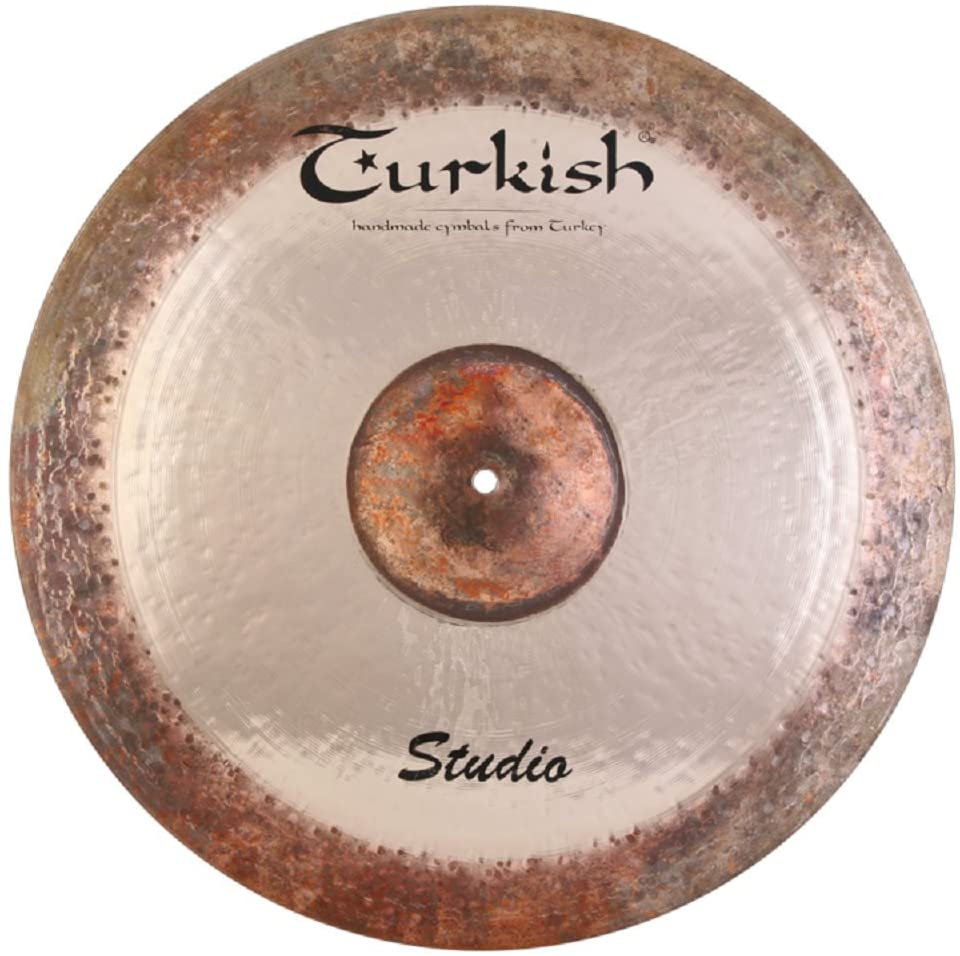 Turkish Cymbals Custom Series 22-inch Studio Ride Cymbals SD-R22