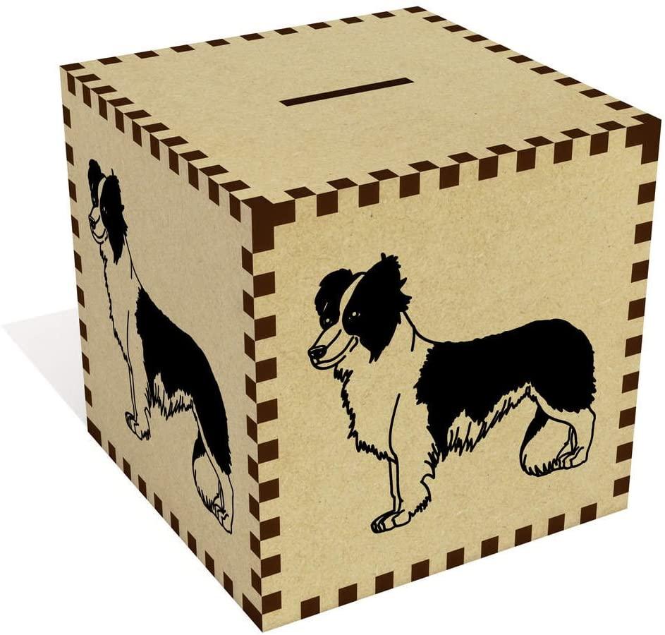 Azeeda Large 'Border Collie' Money Box / Piggy Bank (MB00007988)