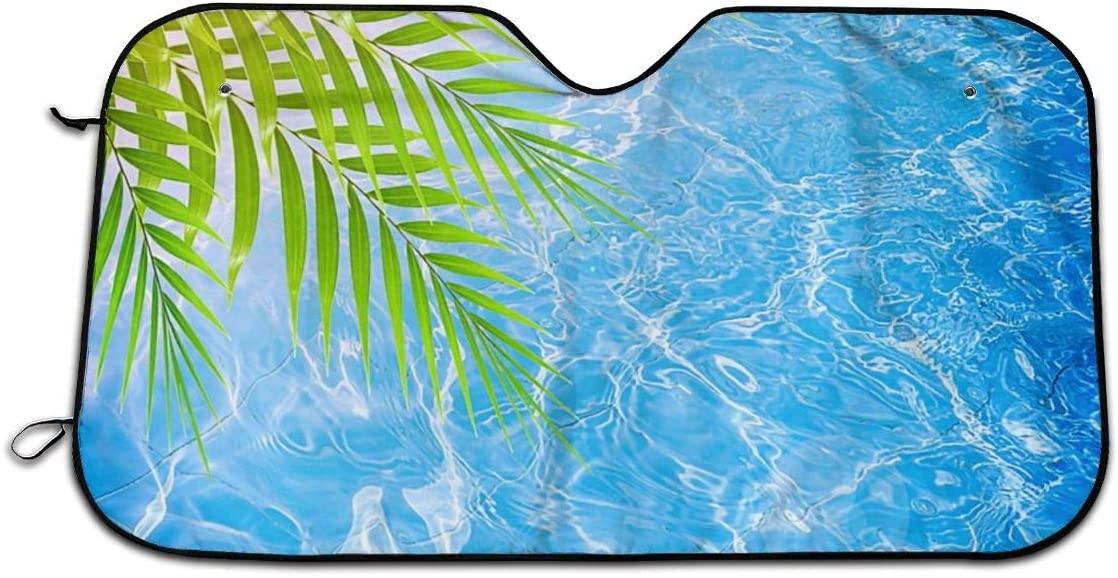 THONFIRE Car Windshields Sun Shade Refreshing Water Blocks UV Rays Keeps Your Vehicle Cool Visor Protector Automobile Front Window Heatshield
