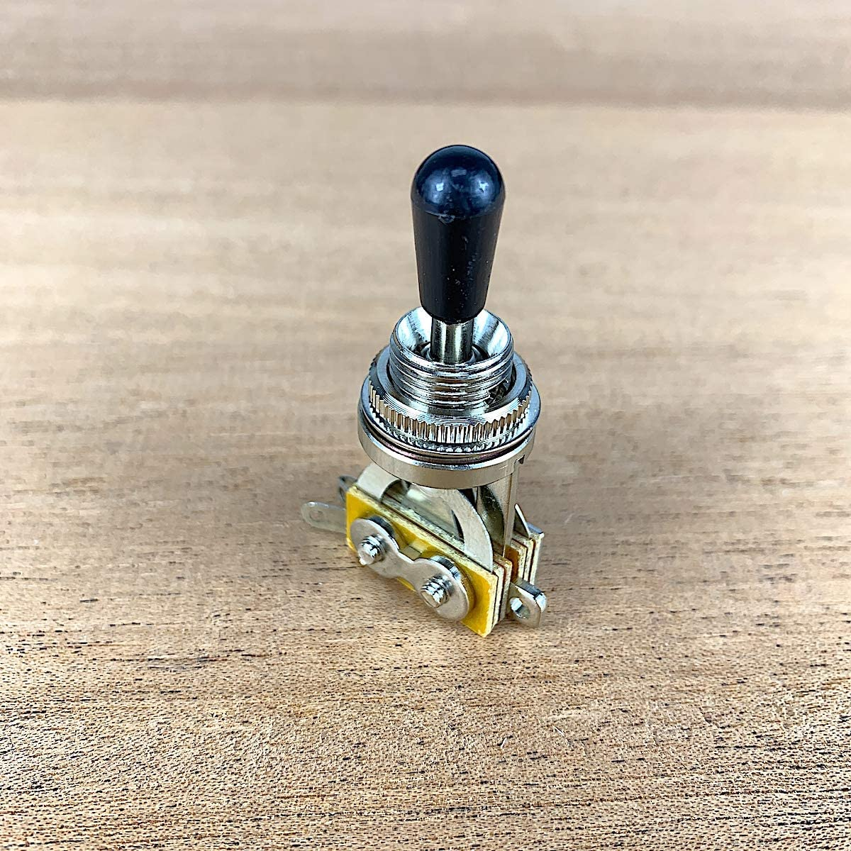 GTI Metric Toggle Switch For Les Paul Style Guitars 3 Position - Chrome- GP-TSC