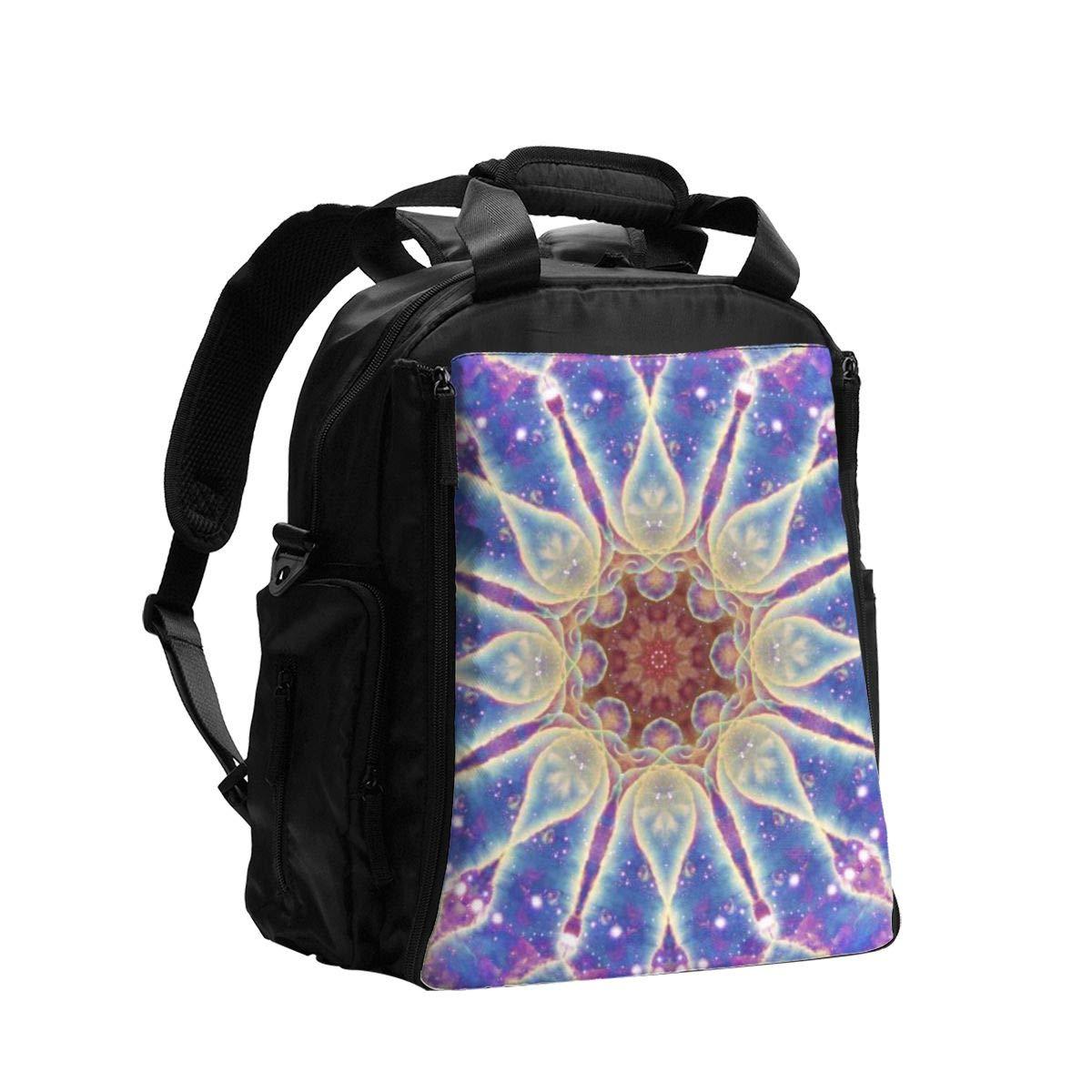Mandala Diaper Bag Backpack,Baby Travel Nappy Back Pack