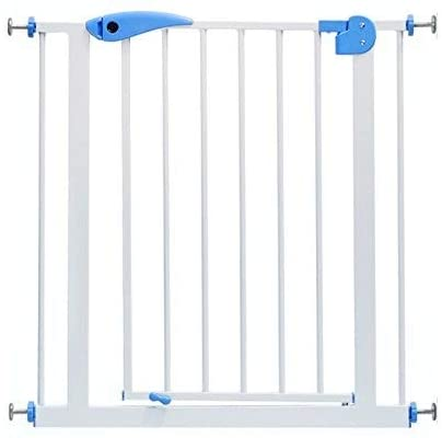 Huo Baby Gate Extra Wide Baby Gate Stair Barrier Pet Dog Fence Isolation Door Child Safety Banisters Wall Pressure Mounted (Size : 65-74cm)