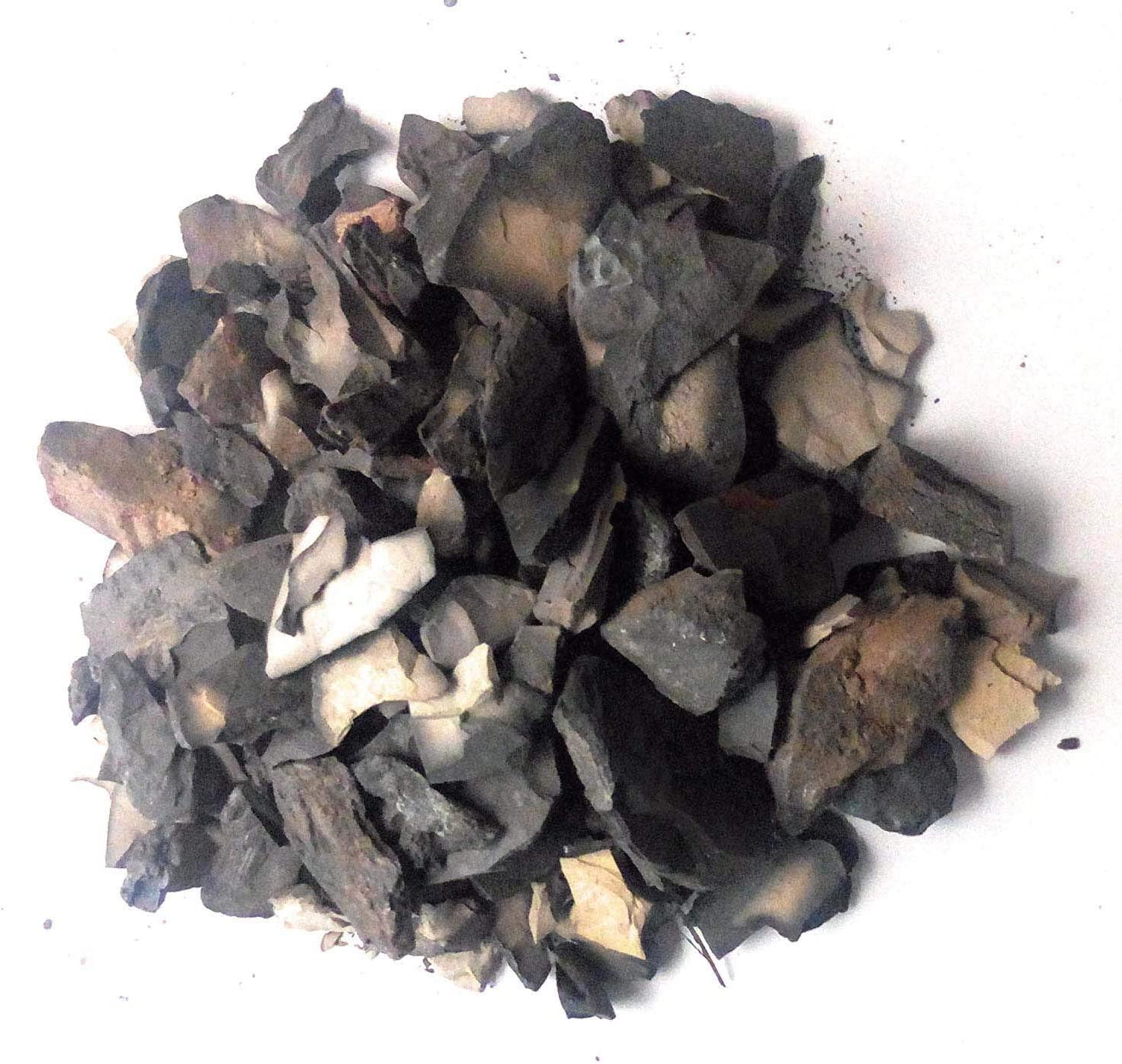 Generic India Clay Edible Roasted Clay Bhutdo, Khadi, Bhutado, Mitti, Butter (Grey, 250 g)