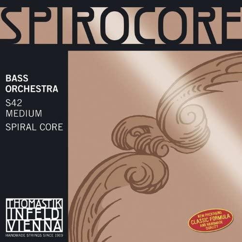 Thomastik Spirocore 3885.1 SINGLE Upright Bass C String Chrome Wound 3/4