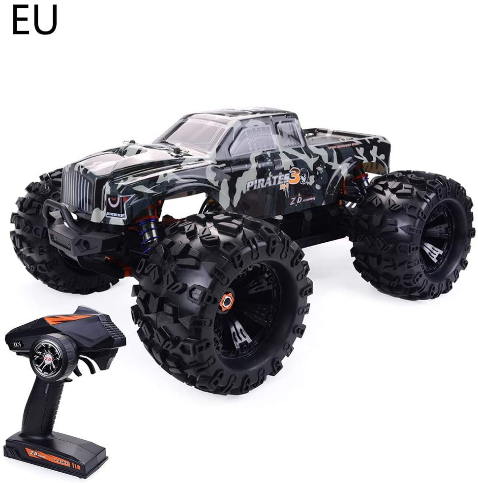 diveimai ZD Racing MT8 1/8 Scale Remote Control Car 4GHz 4Ch Electric Brushless Truck RTR