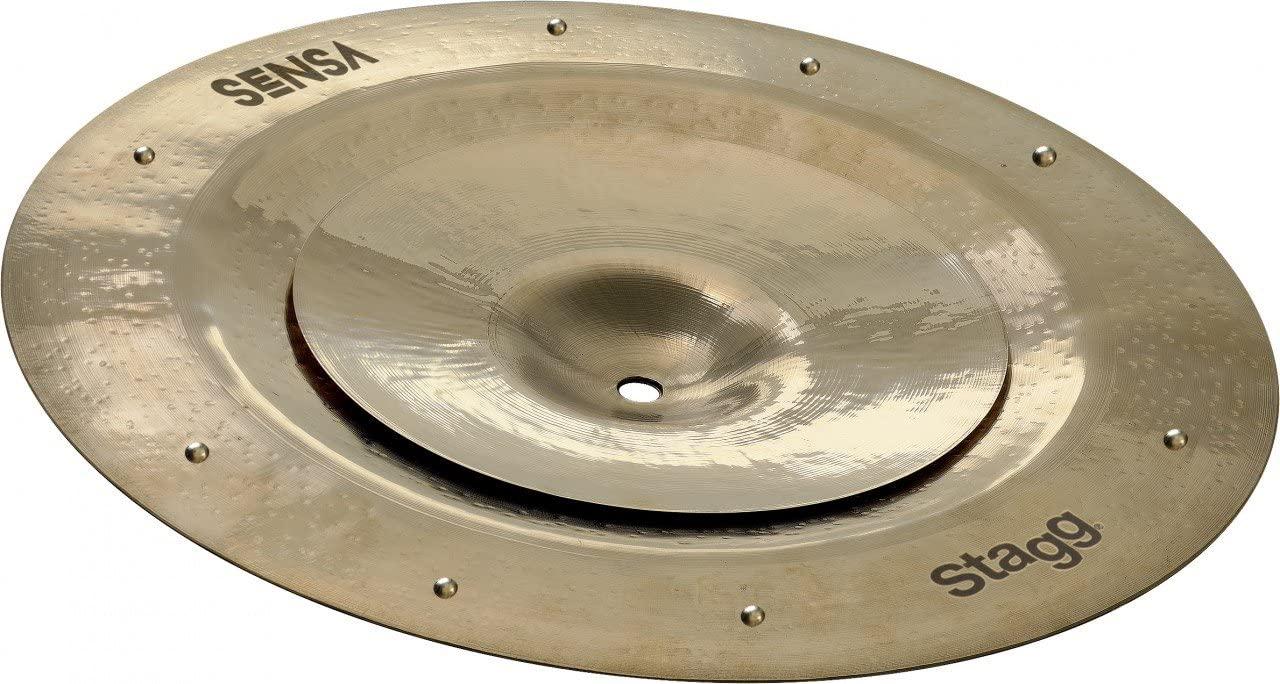 Stagg SEN-STA0814 ZZ SENSA China/Splash Cymbal Stack - 8