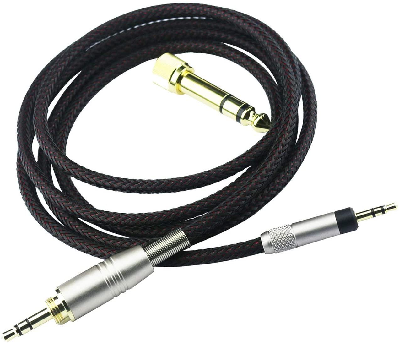 NewFantasia Replacement Audio Upgrade Cable Compatible with Bose QuietComfort 25, QuietComfort 35, QC25, QC35 II, QC35 Headphones 2meters/6feet