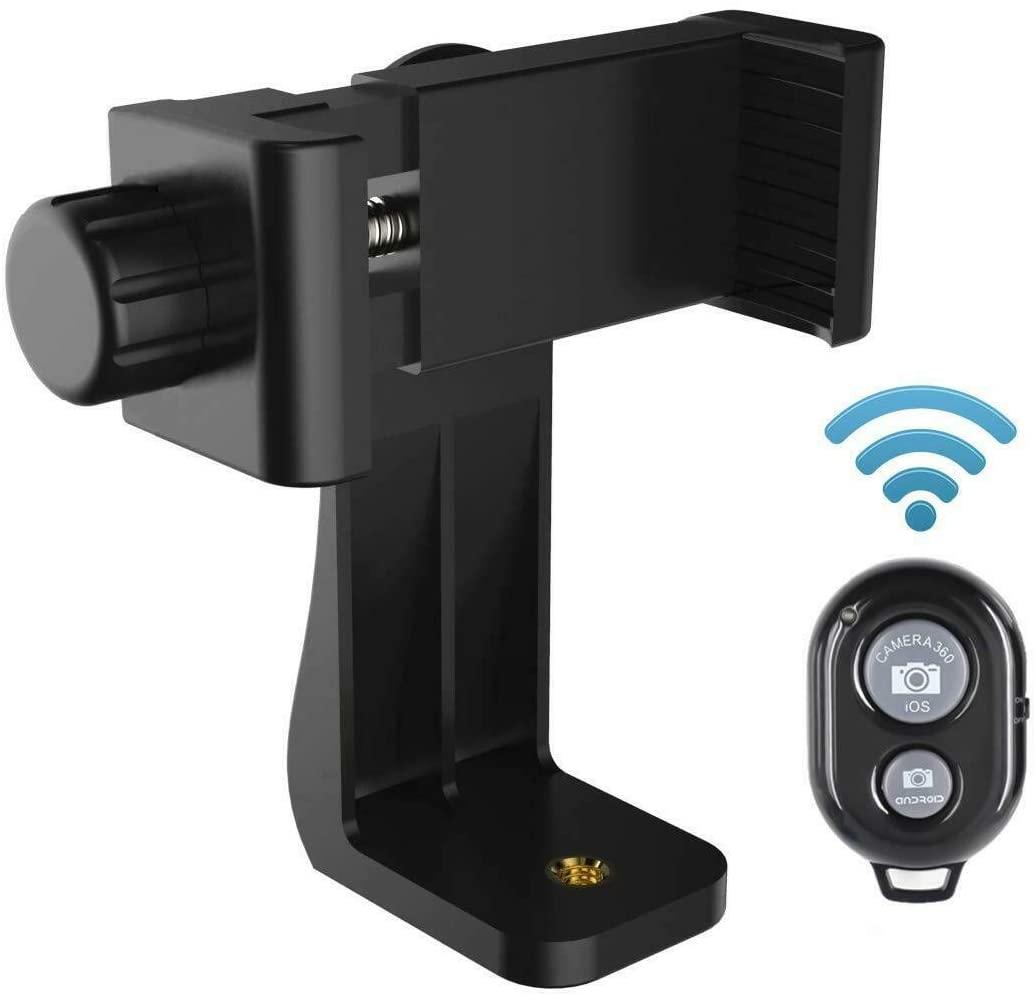 Ulanzi Phone Tripod Mount Adapter/Vertical Bracket Smartphone Holder/Cell Phone