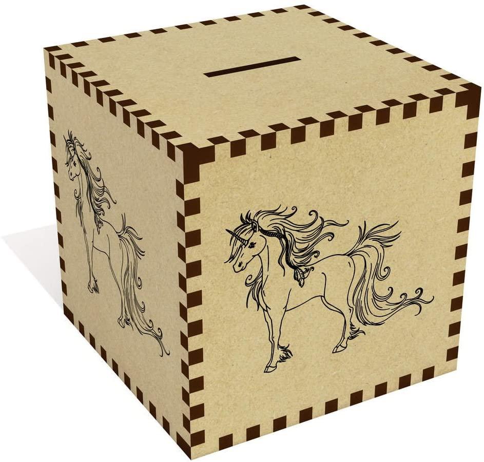 Azeeda Large Unicorn Money Box / Piggy Bank (MB00028409)