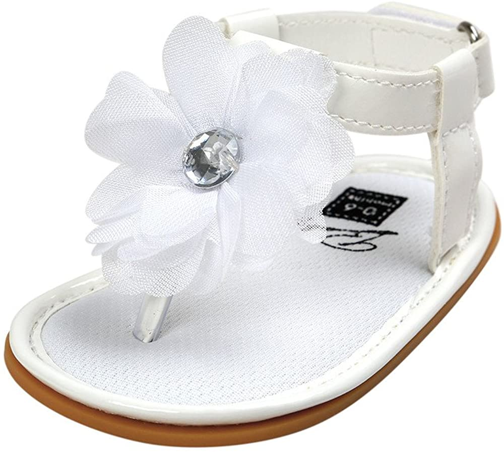 Baby Girls Soft Sole Summer Sandals Flip Flops