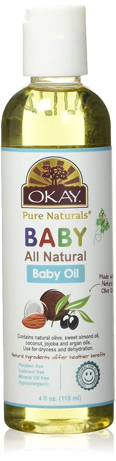 Okay Baby Oil All Natural 236ml, 4 Ounce