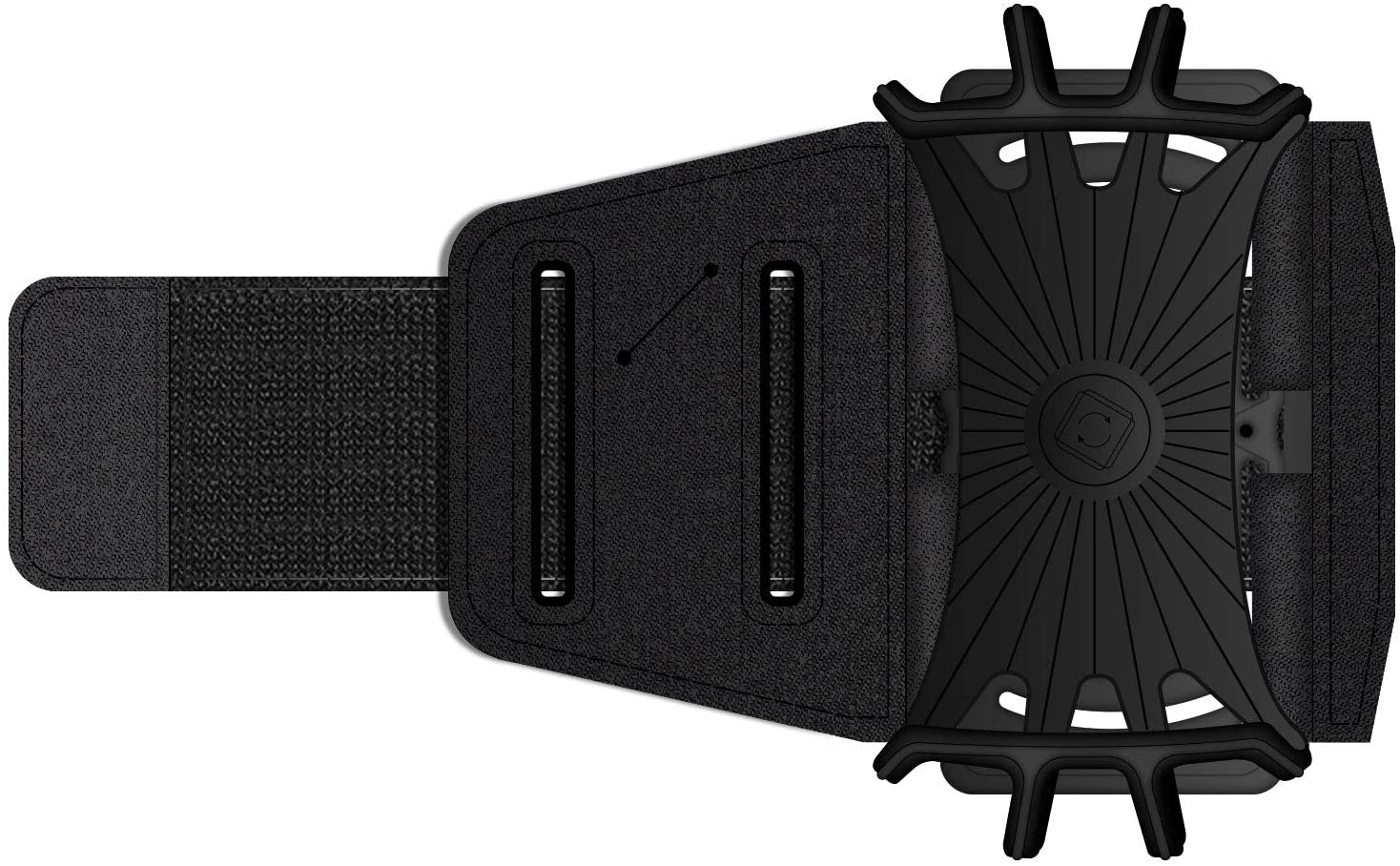 Cellet Sports Armband 180 Degree Rotational Exercise Armband with Adjustable Strap Compatible for iPhone Xs/XS Max/XR/X/8/Plus,Note 9/8/ Galaxy S9/S9+/S8/S8+/A6/J7/J3, LG Stylo 4/Plus