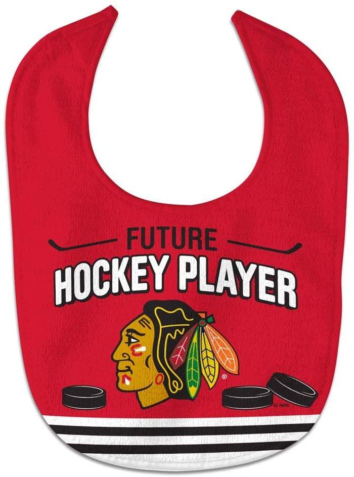 WinCraft NHL Chicago Blackhawks WCRA2195214 All Pro Baby Bib