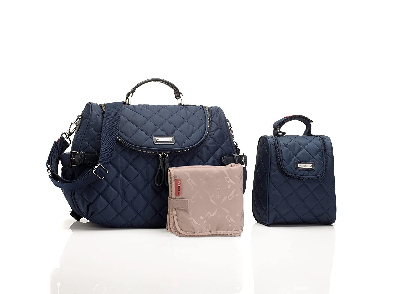 Storksak Poppy Convertible Back Tote Bag, Navy