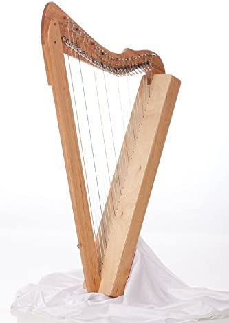 Rees Harps SE - Special Edition Fullsicle Harp, Solid Cherry Wood, 26 String, 33