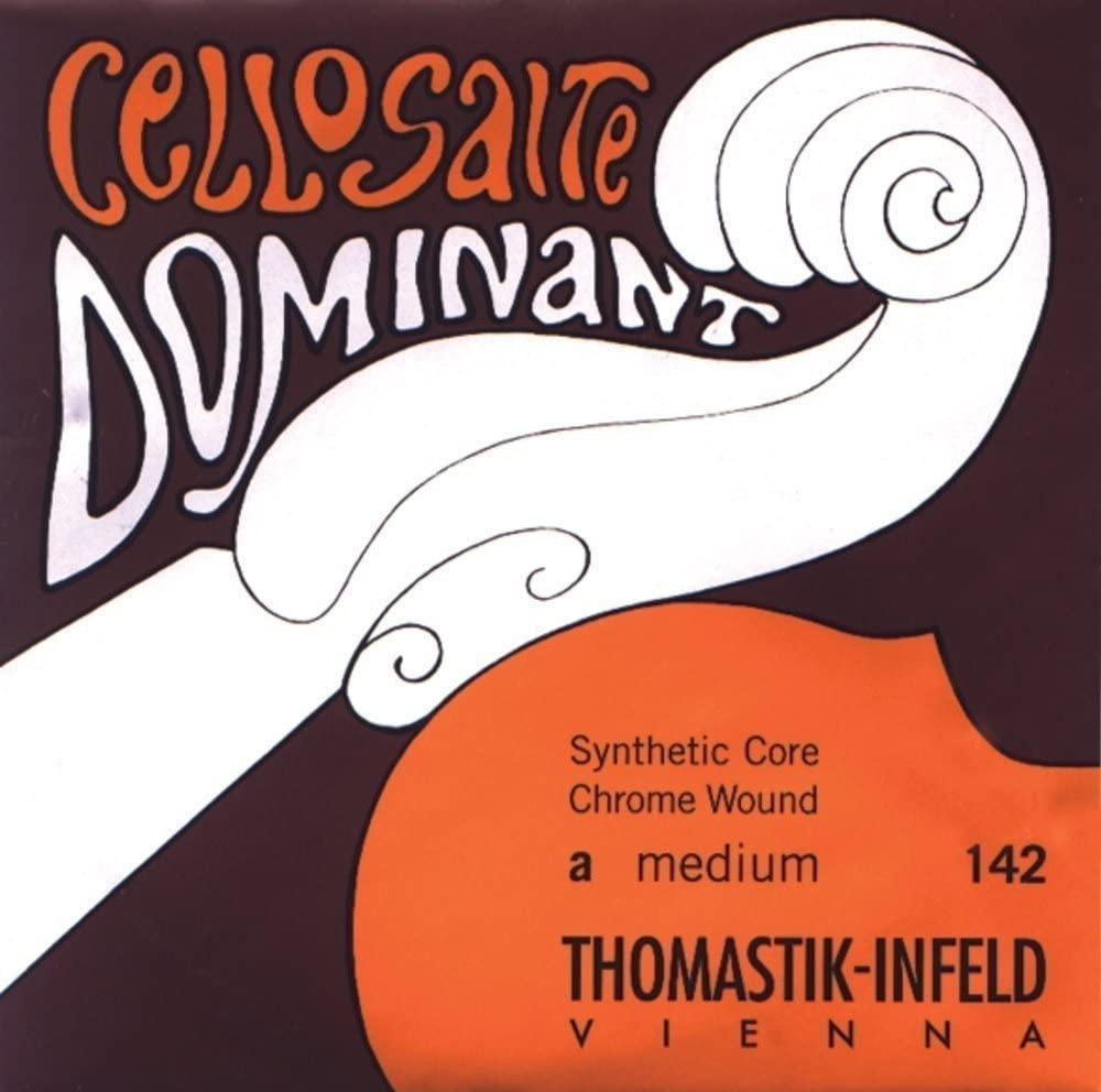 Thomastik-Infeld 144.18 Dominant Cello String, Single G String, Chromesteel Wound, Medium Tension, 1/8 Size