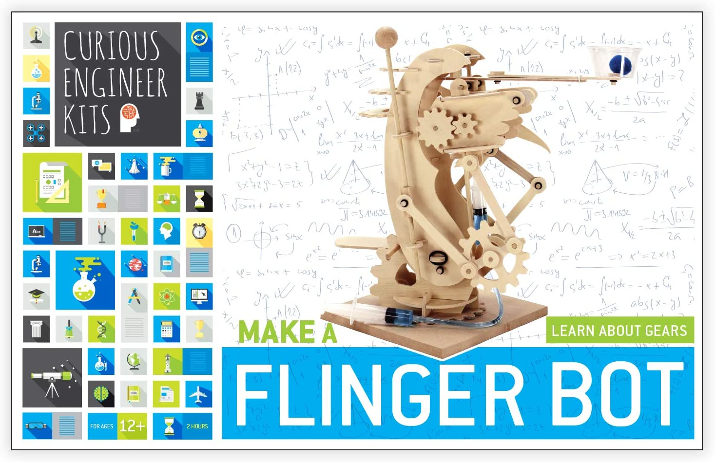Make a Flinger Bot Kit   Facts and easy instructions included   Copernicus Toys Curious Engineer Kit…