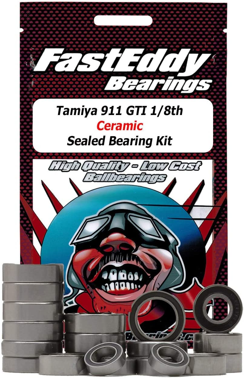 Tamiya 911 GTI 1/8th Ceramic Sealed Bearing Kit