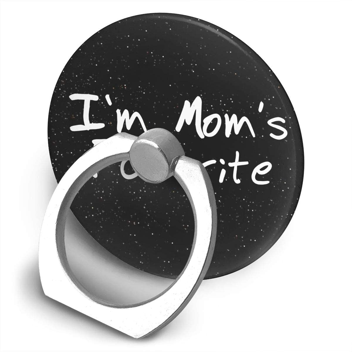 Lozeow I'm Mom'S Favorite 360 Degree Rotating Ring Stand Grip Mounts