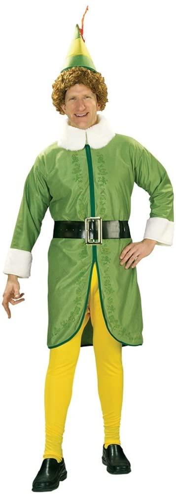 Halloween FX Buddy The Elf Men's Costume (Standard)