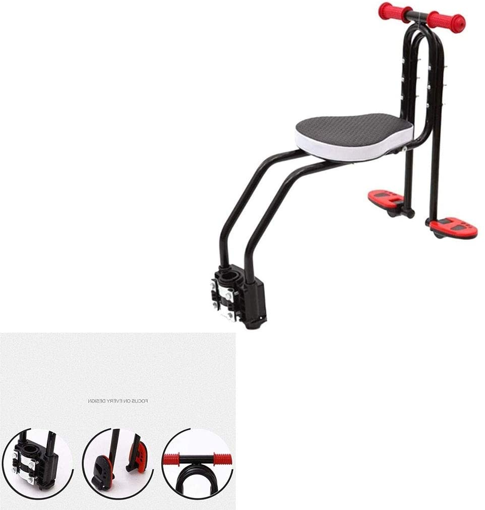 Yangsu Child Safety Seat with Armrest and Pedal Use,Outdoor Bicycle Accessories Kids Bike Seats Easy to Install 6.14