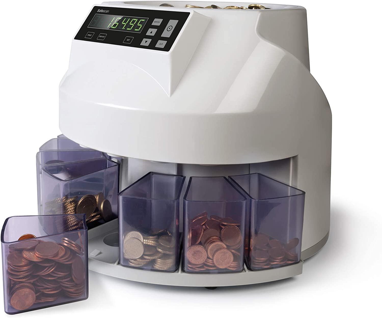 SAFESCAN 948358 Coin Counter and Classifier-(EU Coin Collector)