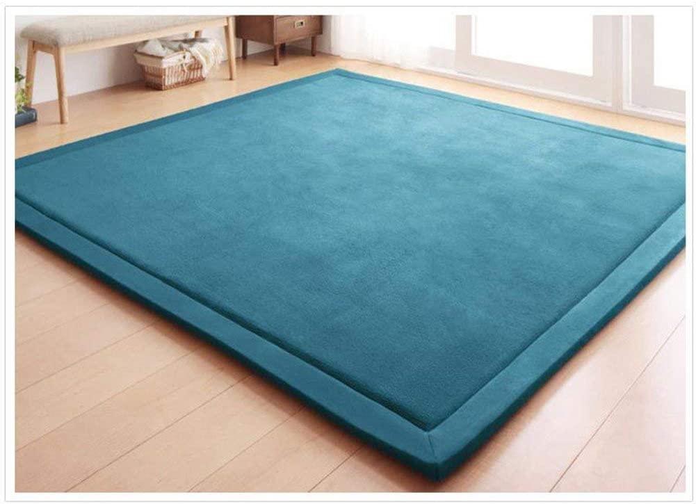 HXQ Coral Velvet Area Rugs Play Mat Carpet Crawling Mat for Nursery Baby Toddler Children Kids Room,Yoga Mat Exercise Pads Yuchen