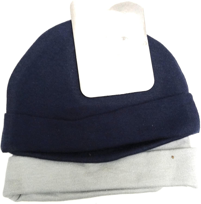 Onesie Boys Blue/Grey Hats, Newborn