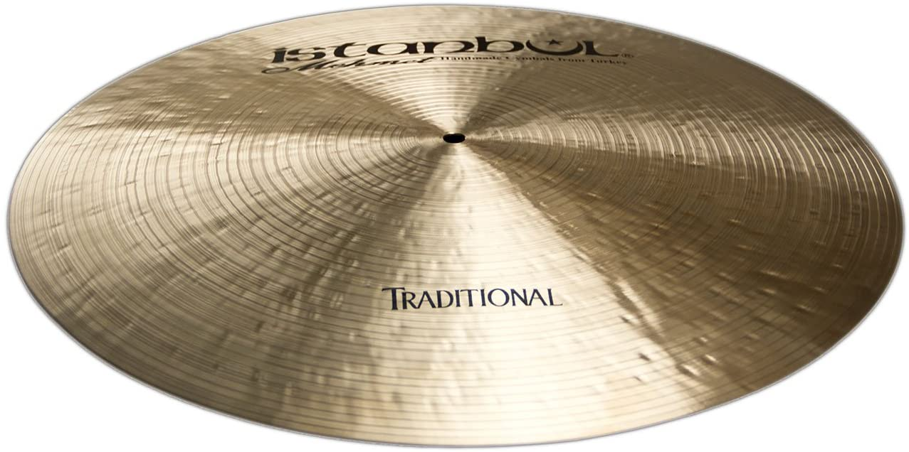 Istanbul Mehmet Cymbals Traditional Series RF18 18-Inch Flat Ride Cymbals