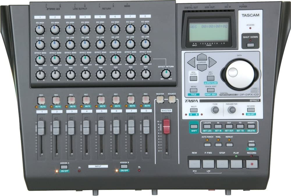 TASCAM DP01FXCD Digital Portastudio Recorder