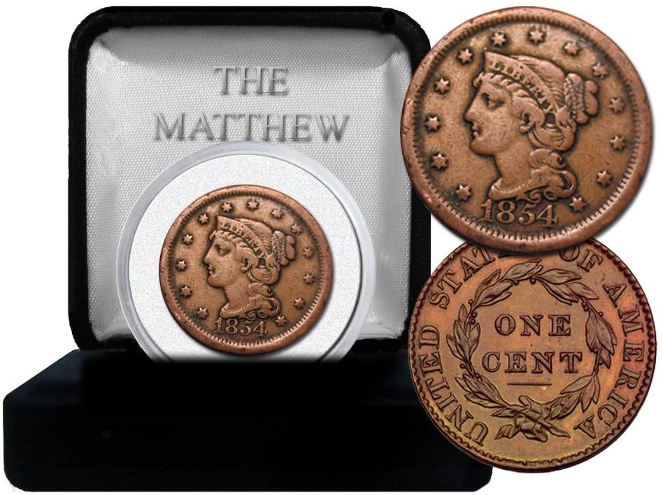 The Matthew Mint Large Head Cent 1805-1857