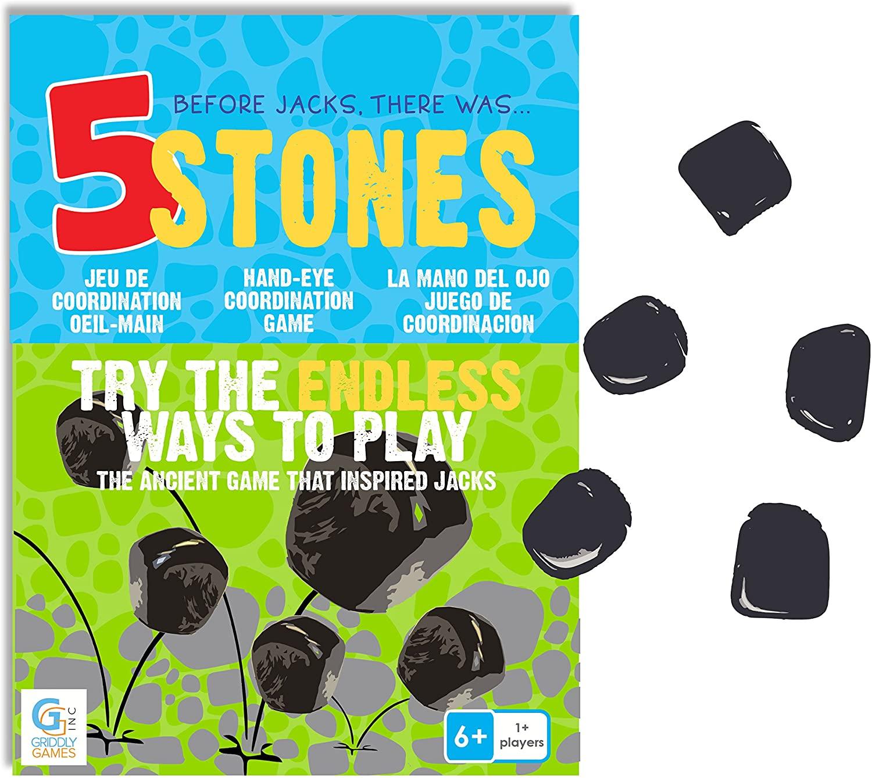 5 Stones: Hand Eye Coordination Game